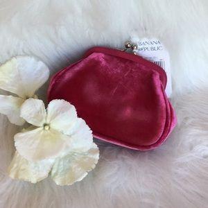 🆕Banana Republic Velvet Mini Bag